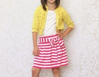 Easy, No-Sew Skirt (Free Pattern)