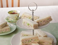 Chicken Recipes: High Tea Celery and Chicken Sandwiches
