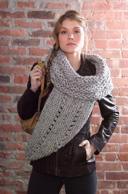 District 12 Cowl Wrap (Free Knitting Pattern)