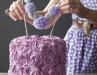 Cake Recipes: Girly-Girl Lavender Cake