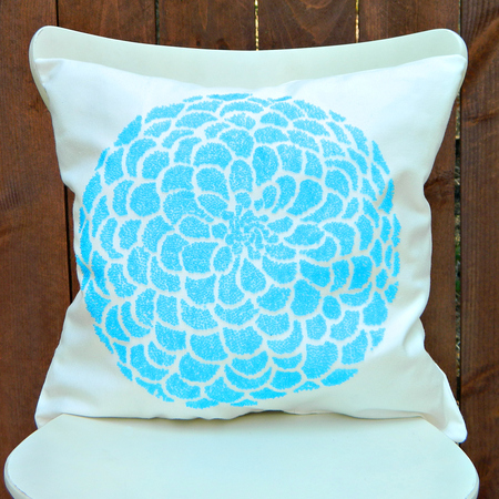 Easy Beaded Pillows