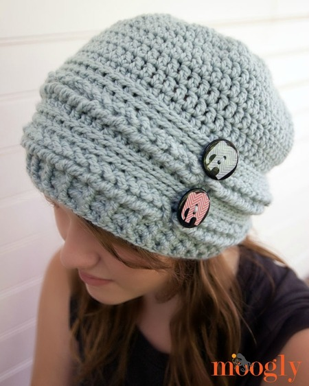 Ups and Downs Slouchy Beanie