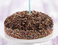 Chocolate Cake: Baby's First Birthday Cake Recipe