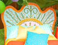 Colorful Boho Headboard