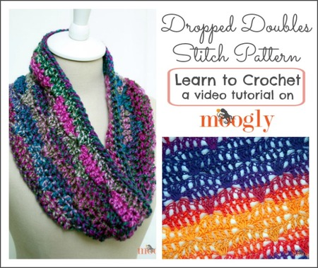 Dropped Doubles Stitch Pattern