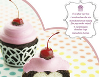 Cherry Sweetheart Cupcakes