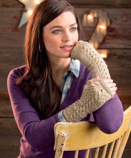 Yorkshire Morning Mitts (Free Knitting Pattern)