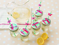 Stars and Stripes Mason Jar Glasses