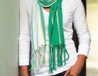 Fun Fringe Scarf (Free Easy Sewing Pattern)