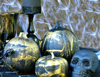 Marbled Halloween Decor