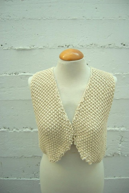 Eva Vest (Free Knitting Pattern)