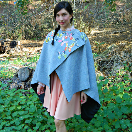 Beautiful Butterfly Cape