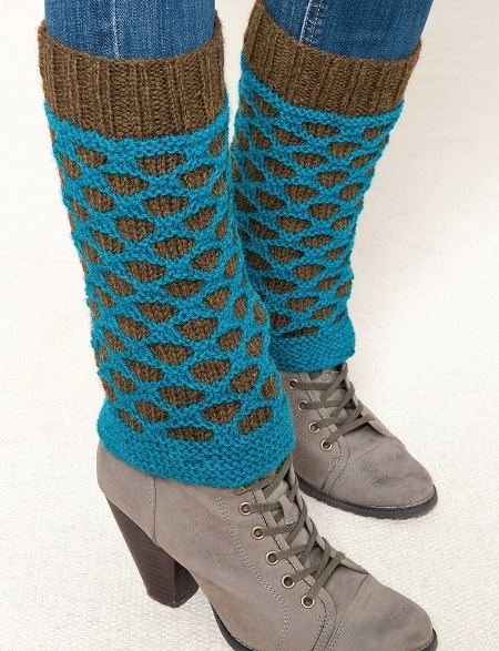 Honeycomb Leg Warmer Knitting Pattern Craftfoxes
