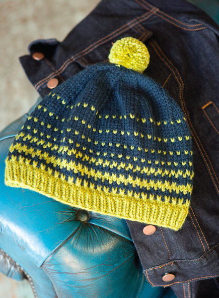 Bobble Hat (Free Knitting Pattern)