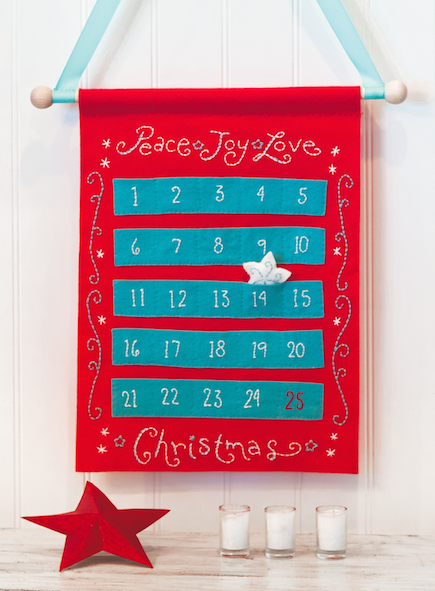 Peace,  Joy, Love Advent Calendar