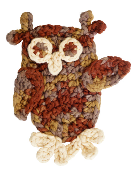 Oval Owl Crochet Pattern