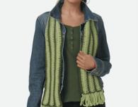 Longitude Scarf (Free Crochet Pattern)