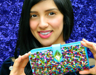 Sequin Bag DIY