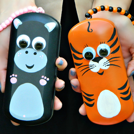 Eyeglass Case Animal Clutch