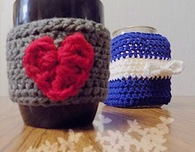 Crochet Heartfelt Mug Cozy