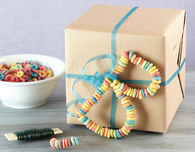 Morning Cereal Gift Wrap Tags