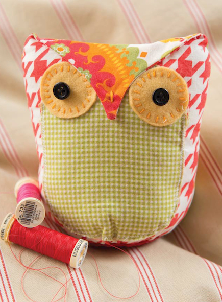 Owl Stuffie Free Sewing Pattern Craftfoxes