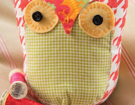 Owl Stuffie (Free Sewing Pattern)