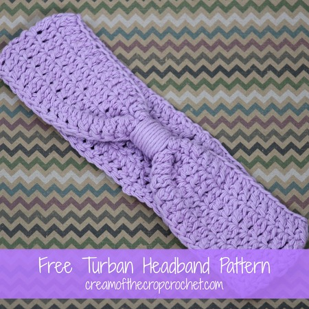 Crochet Turban Headband
