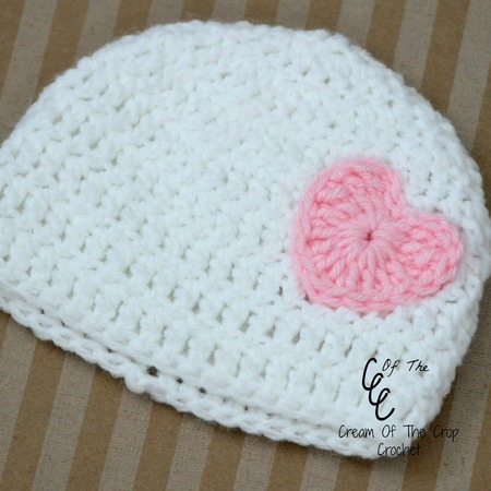 Preemie Heart Hat Pattern