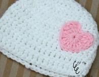 Preemie Heart Hat Pattern