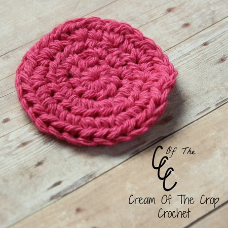 Half Double Crochet Face Scrubbie