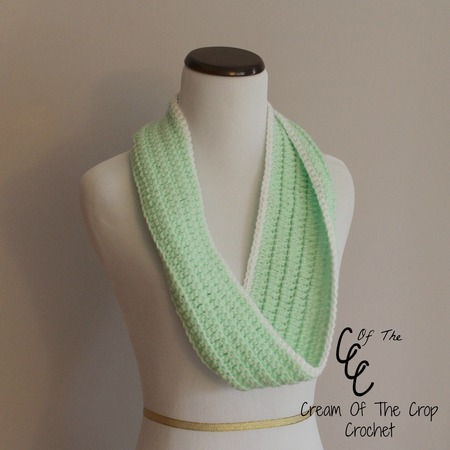 Front Loop Infinity Scarf