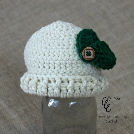 Preemie Leaf Hat