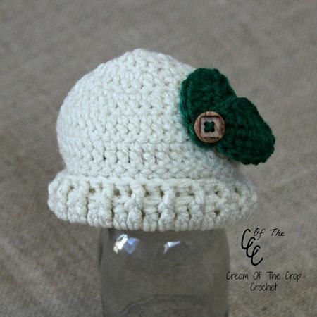 Preemie Leaf Hat
