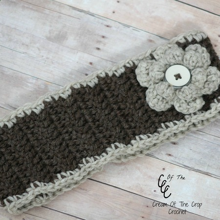 Flower Ear Warmers