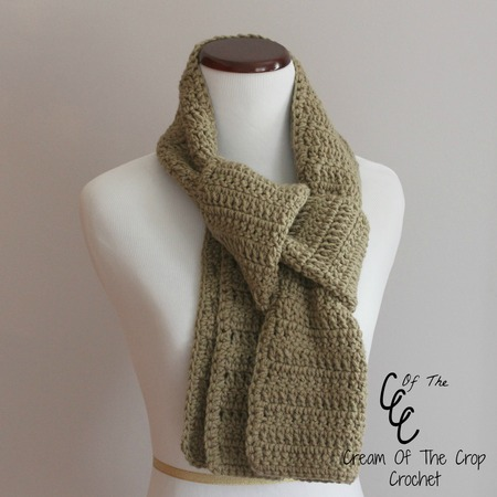 Easy Beginner Scarf