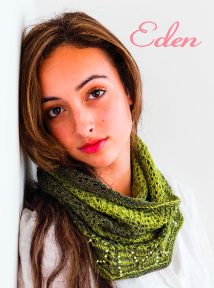 Beaded Lace Knitting: Eden Scarf