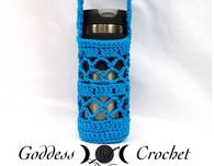Free Crochet Pattern - What a Mesh Water Bottle Holder
