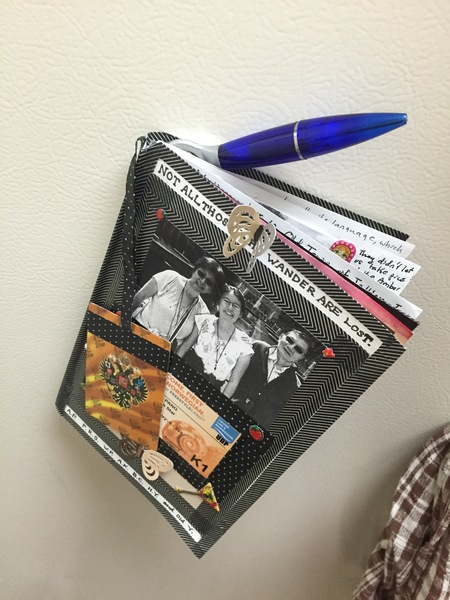 Travel Scrapbook (Eastern Europe) for the Fridge