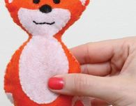 Crafty Fox Plushie