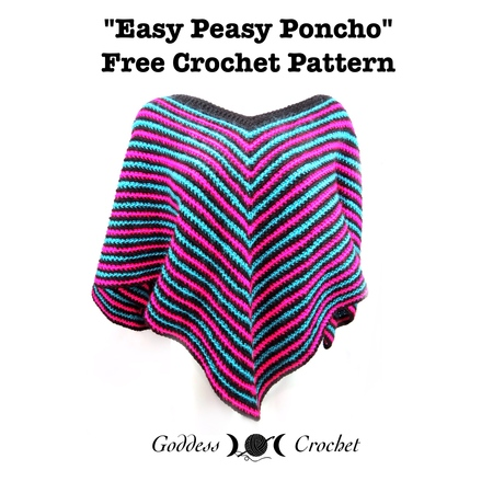 Easy Peasy Poncho