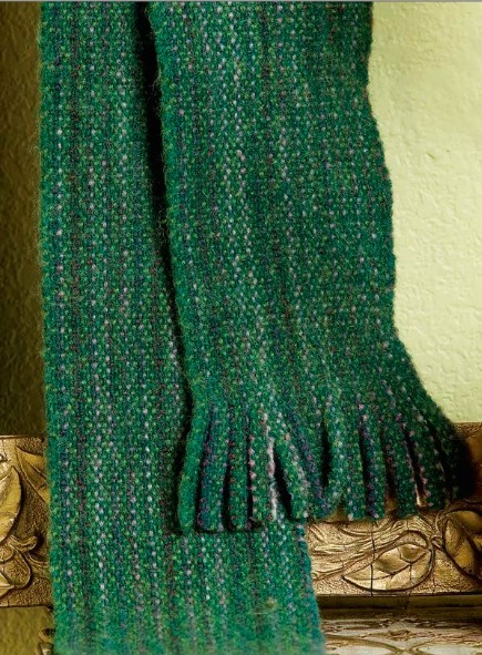 Weaving Pattern: Fully Loaded Scarf