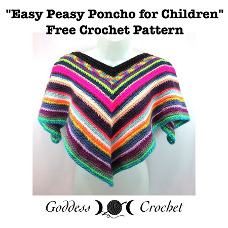 Easy Peasy Children's Poncho