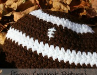 Preemie/Newborn Football Hat