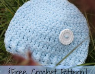 Preemie/Newborn Button Hat