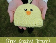 Preemie/Newborn Chick Hat