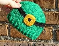 Preemie/Newborn Leprechaun Hat