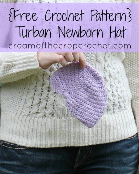 Turban Newborn Hat