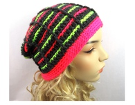 Stained Glass Stripes Beanie