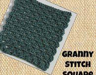Granny Stitch Square